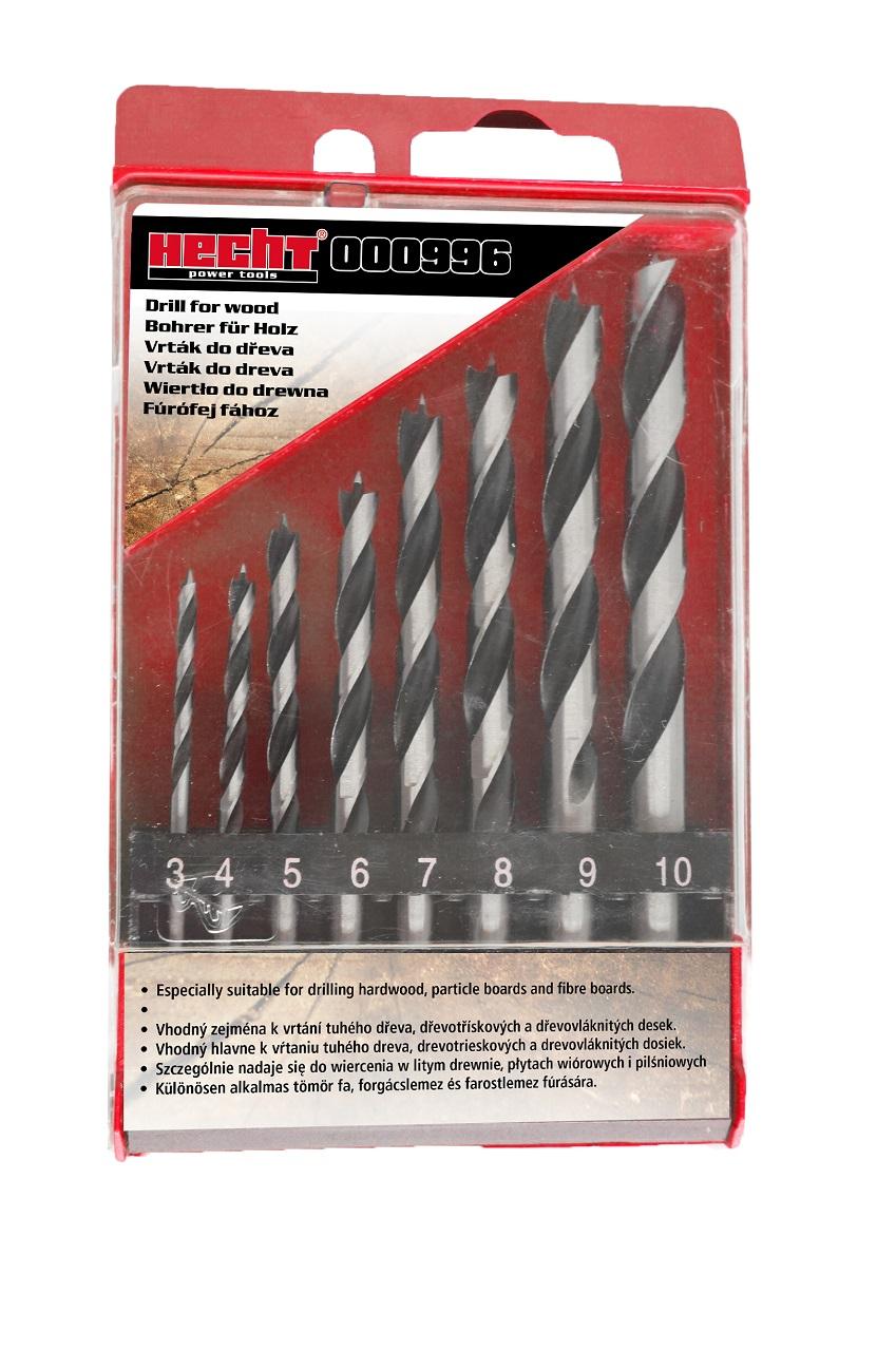 000996 - sada vrtáků do dřeva (8 ks)