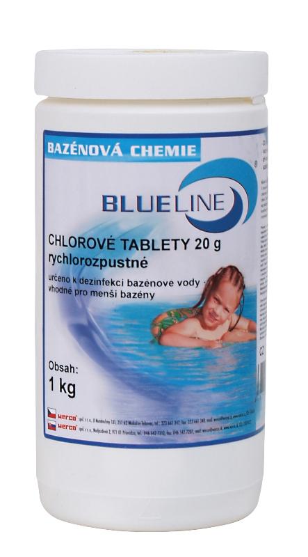 504601 - rychlorozpustné chlorové tablety