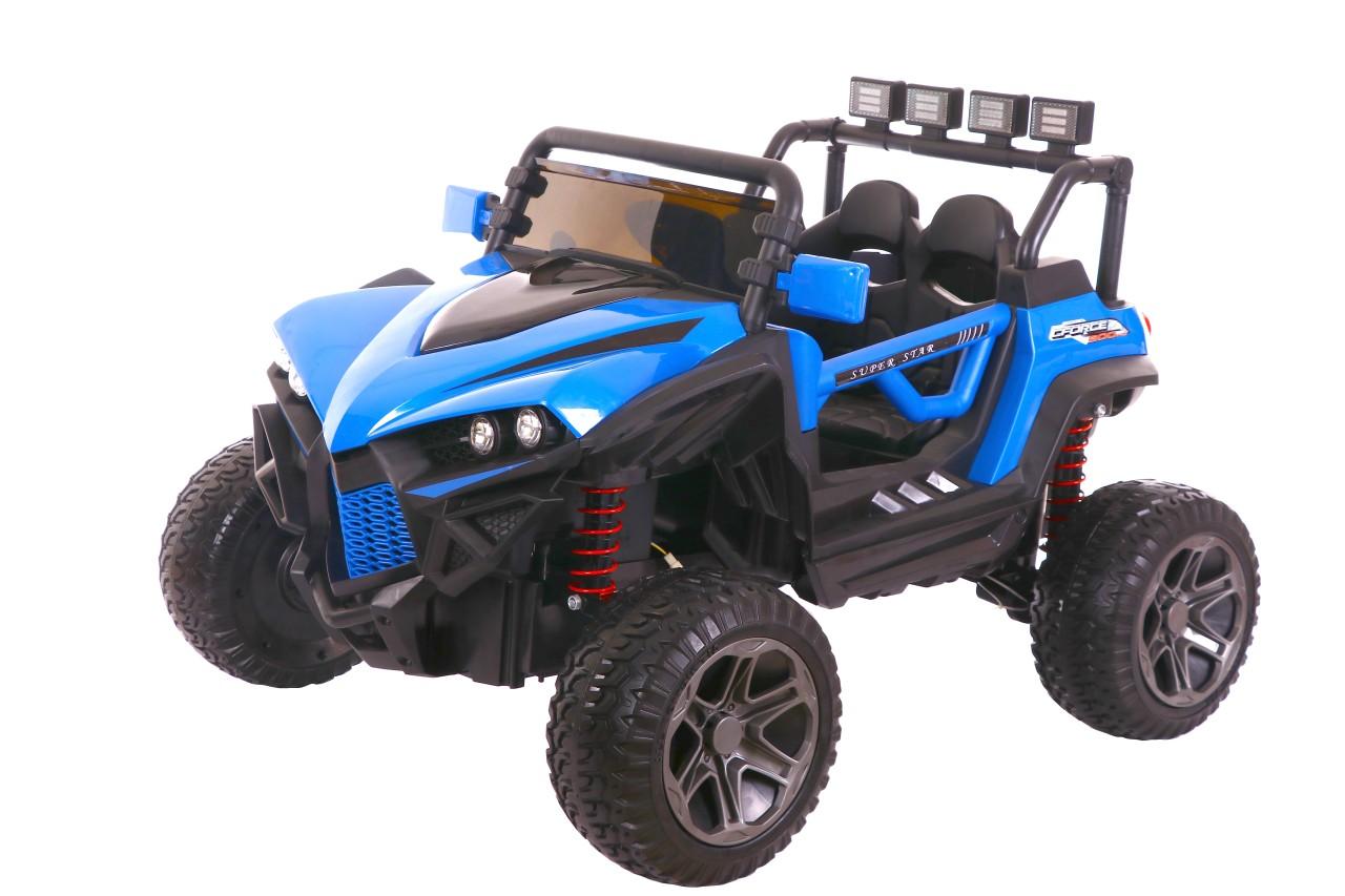 HECHT 59118 BLUE - akumulátorové autíčko - vozítko