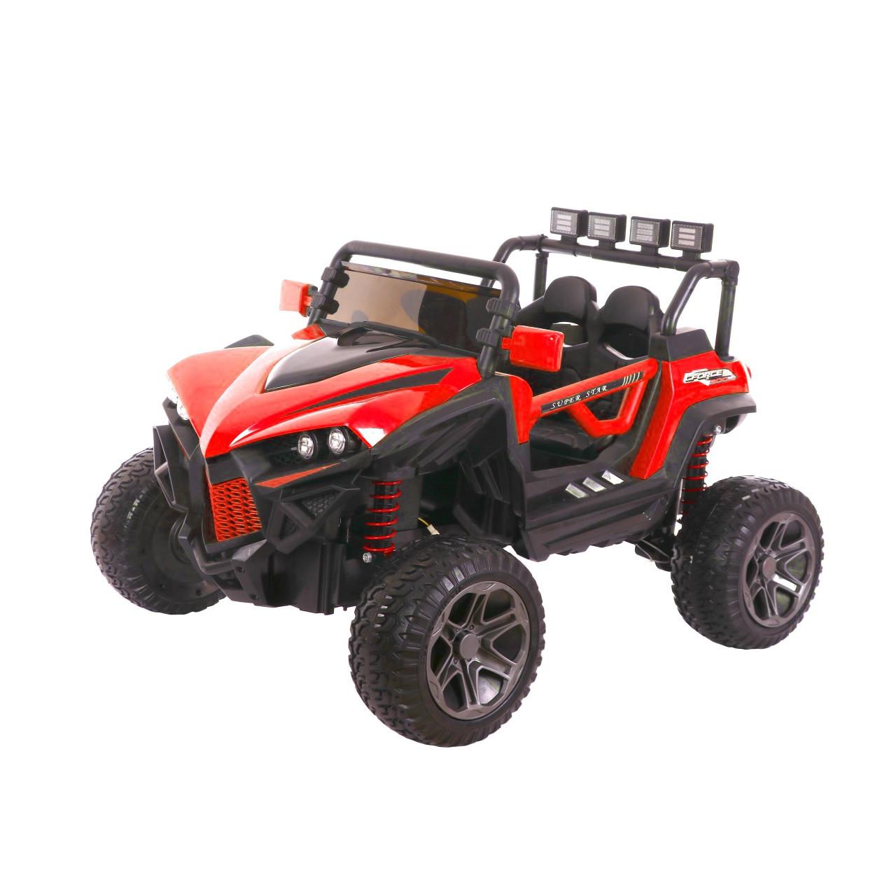 HECHT 59118 RED - akumulátorové autíčko - vozítko
