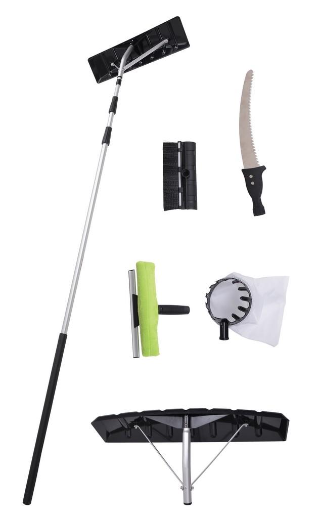 HECHT 631 SET - teleskopická lopata na sníh