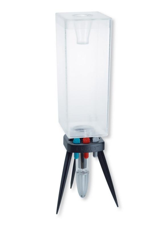 Claber 8057 - Odkapávač s nádobou IDRIS KIT