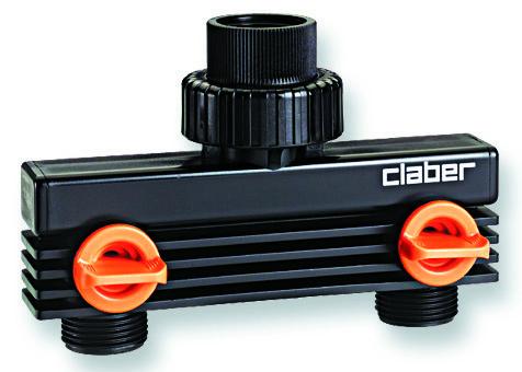 Claber 8589 - nástavec - 2 vývody se závitem