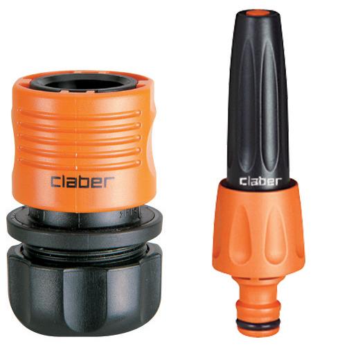 Claber 8800 - sada spojek a zavlažovací trysky ( 8602+8616)