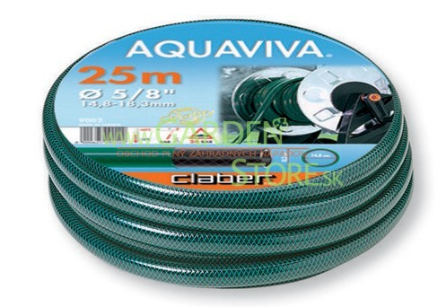 "Claber 9002 - zahradní hadice Aquaviva 5/8"" - 25m"