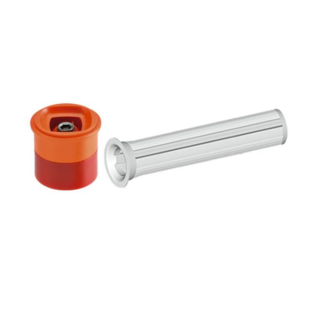 Claber 90134 - čtvercová náhradní hlavice 10l/min. (oranžová)