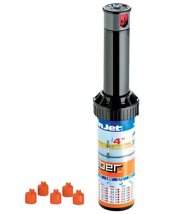"""Claber 90474 - turbínový výsuvný postřikovač 4"""""""
