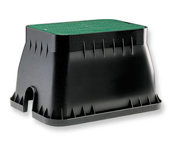 Claber 90515 - obdélníková šachta pro 4 solenoidní ventily