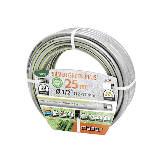 """Claber 9060 - zahradní hadice Silver green Plus 1/2"""" - 25m"""