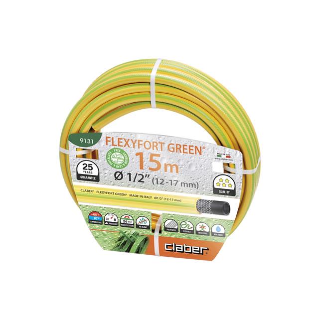 """Claber 9131 - Flexyfort Green 1/2"""" 15 m"""