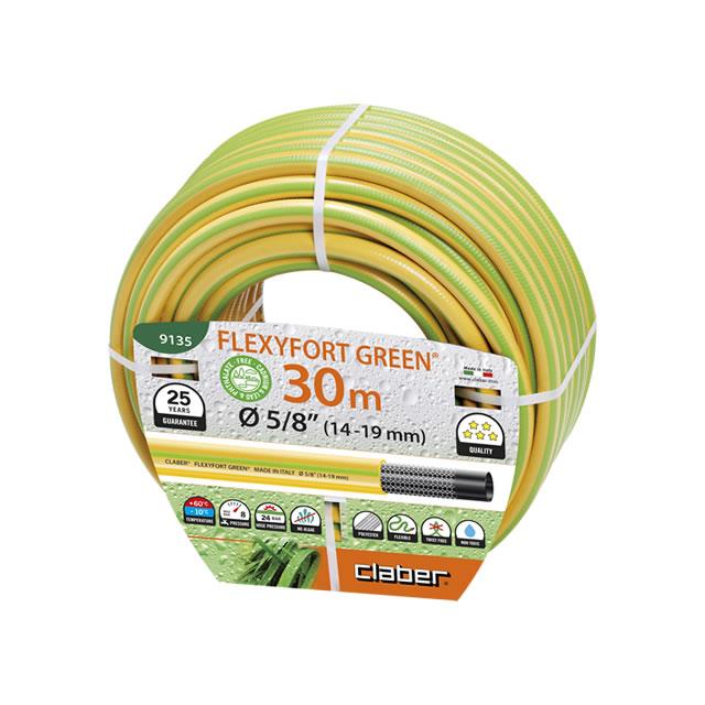 """Claber 9135 - zahradní hadice Flexyfort Green 5/8"""" 30 m"""