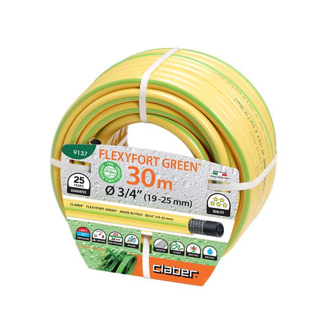 """Claber 9137 - zahradní hadice Flexyfort Green 3/4"""" - 30 m"""