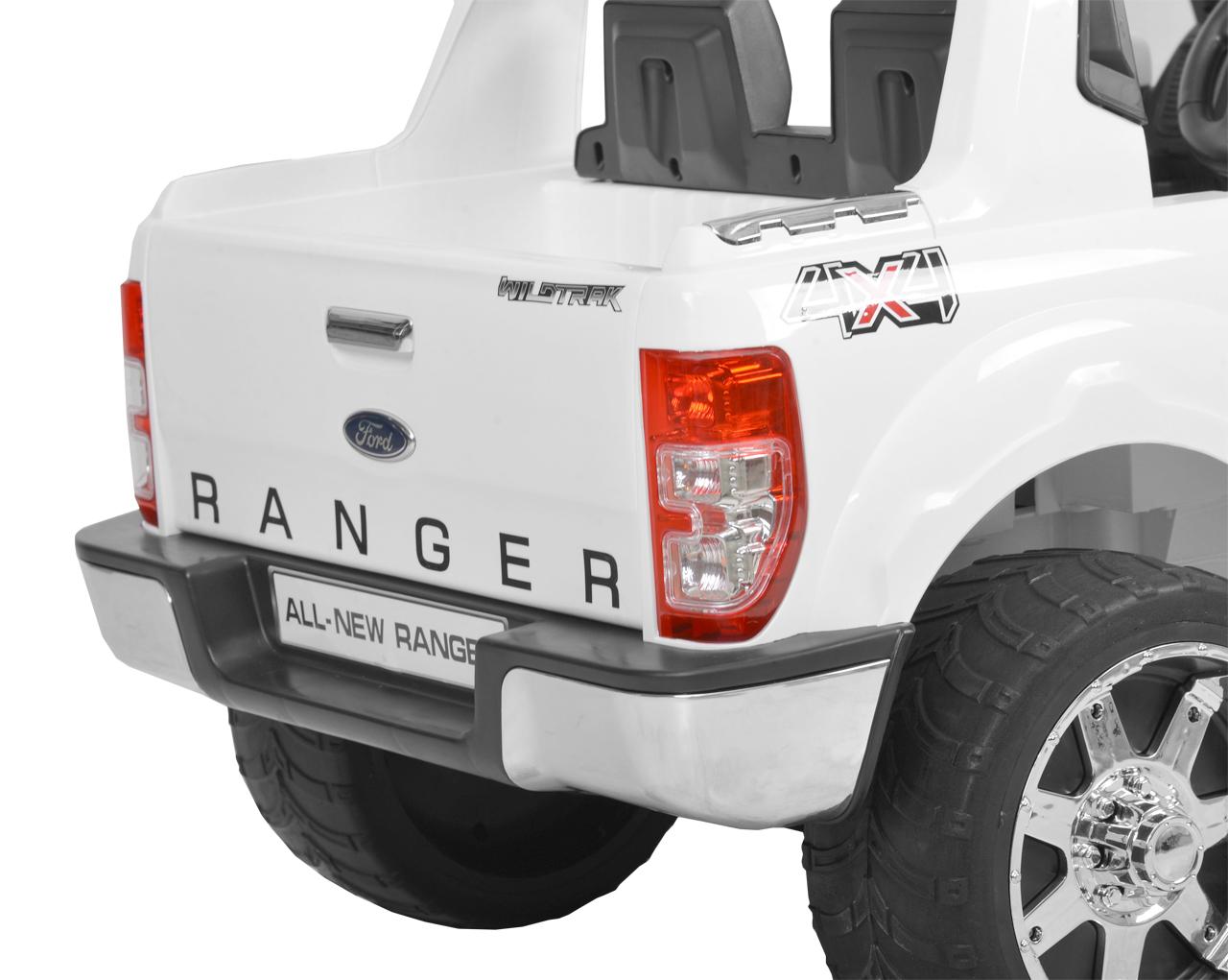 FORD RANGER - WHITE - dětské autíčko