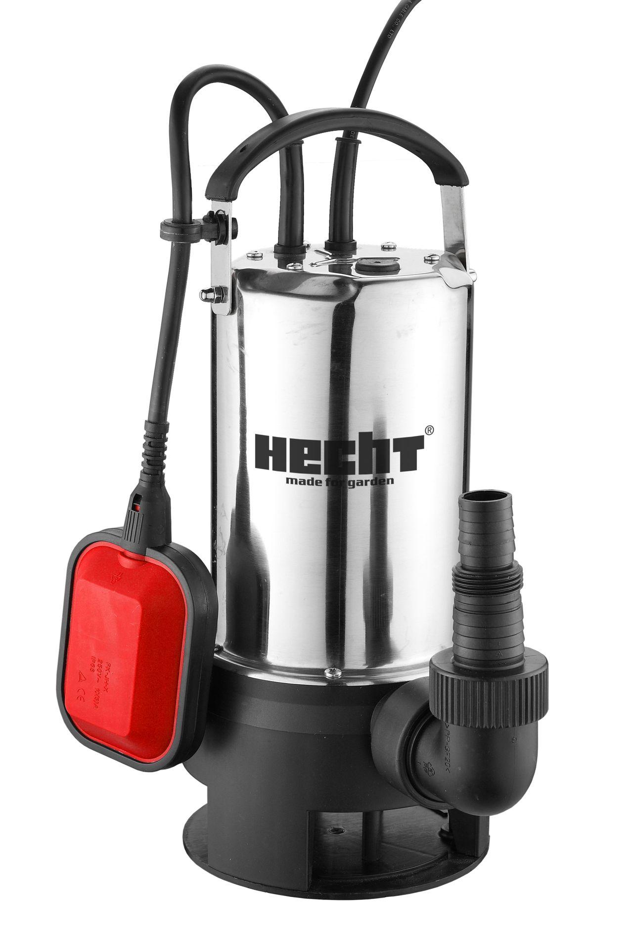 HECHT 3075 - ponorné zahradní čerpadlo