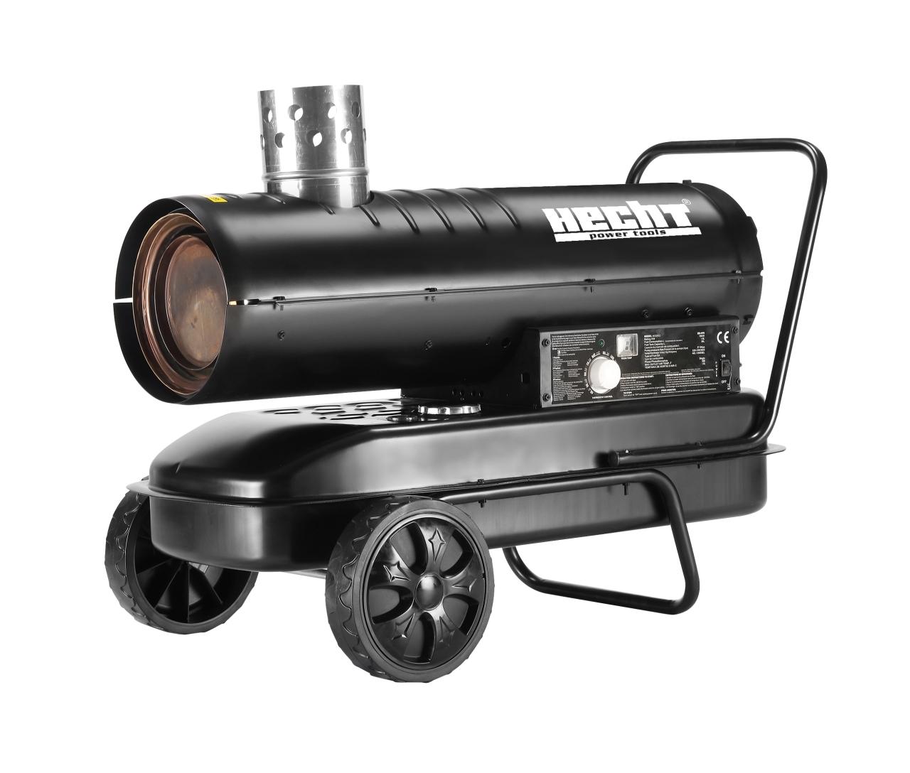 HECHT 3040 - naftová horkovzdušná turbína