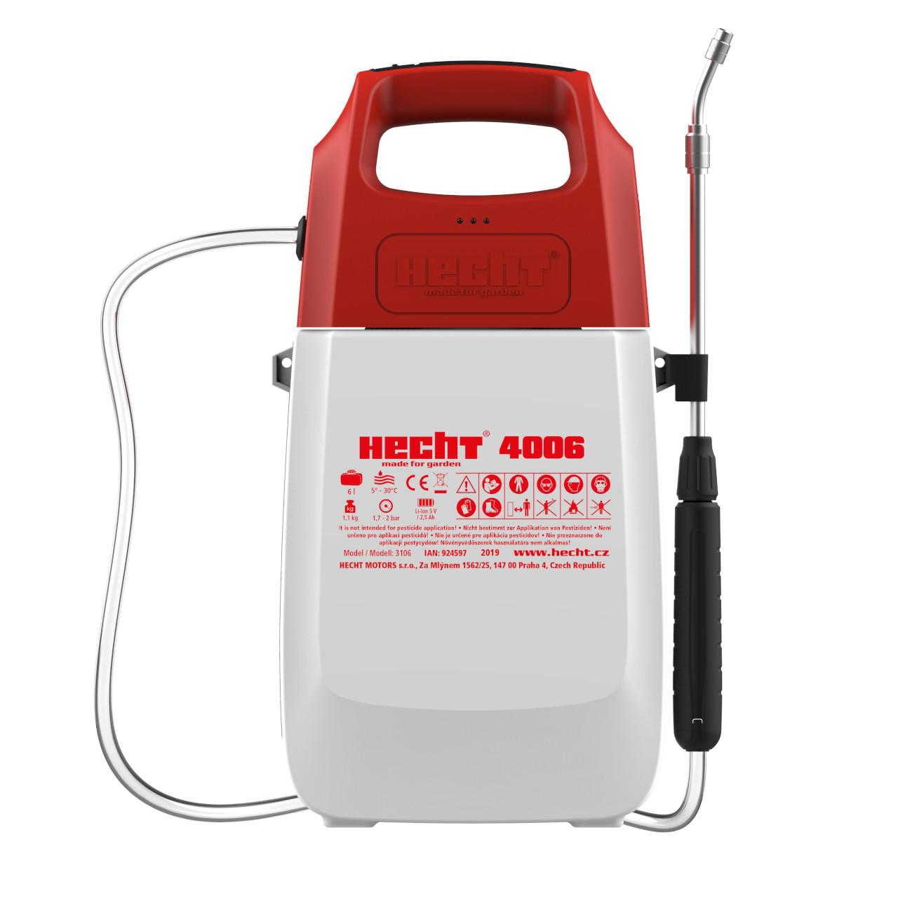 HECHT 4006 - akumulátorový postřikovač