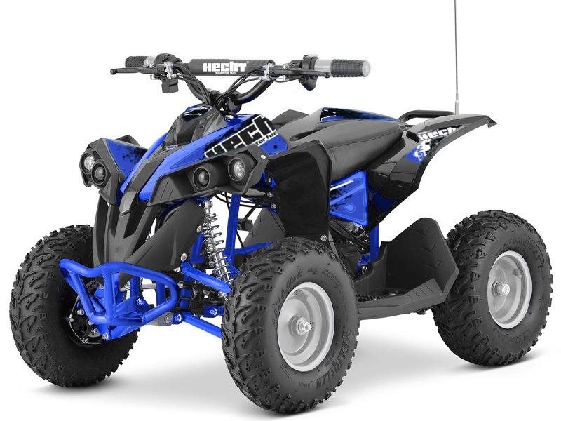 HECHT 51060 blue - akumulátorová čtyřkolka