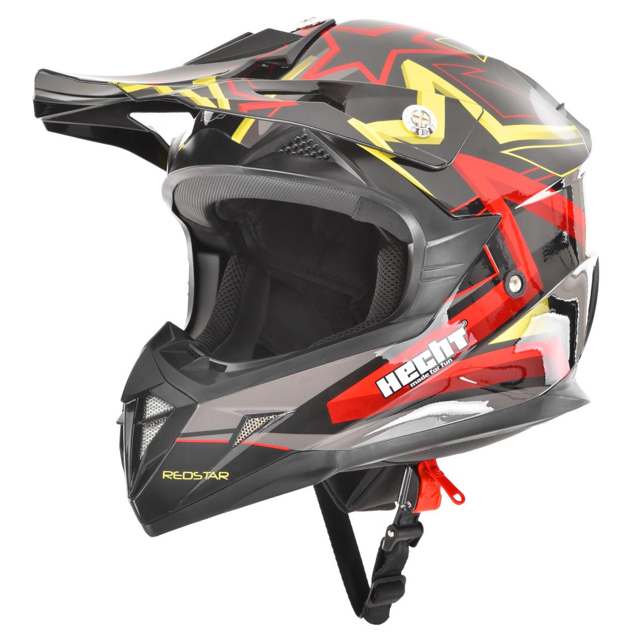 HECHT 55915 L - přilba pro čtyřkolku a motocykl