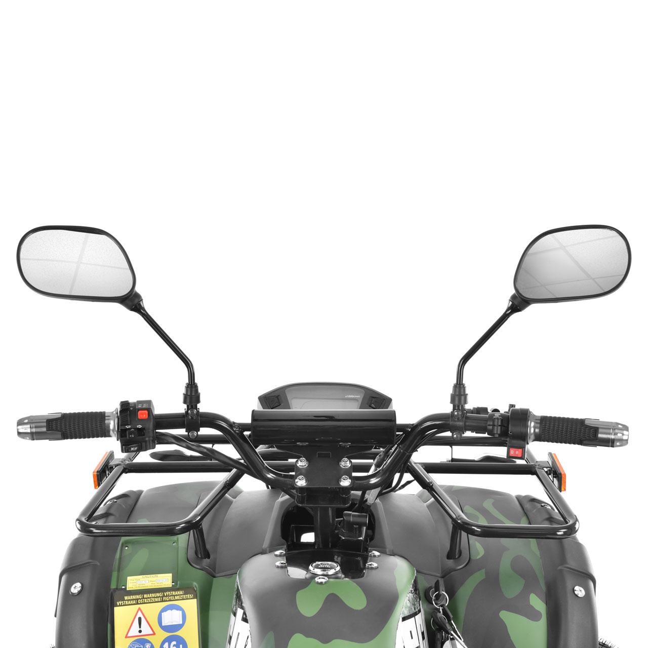 HECHT 59399 - ARMY - akumulátorová čtyřkolka