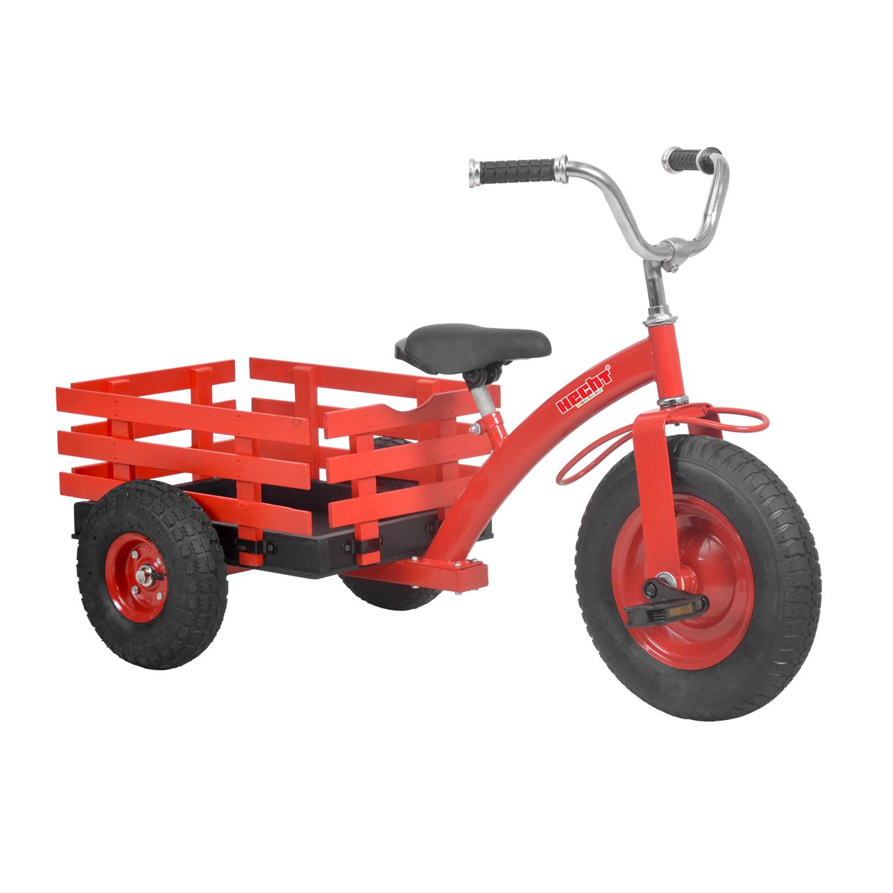 HECHT 59790 Red - šlapací tříkolka