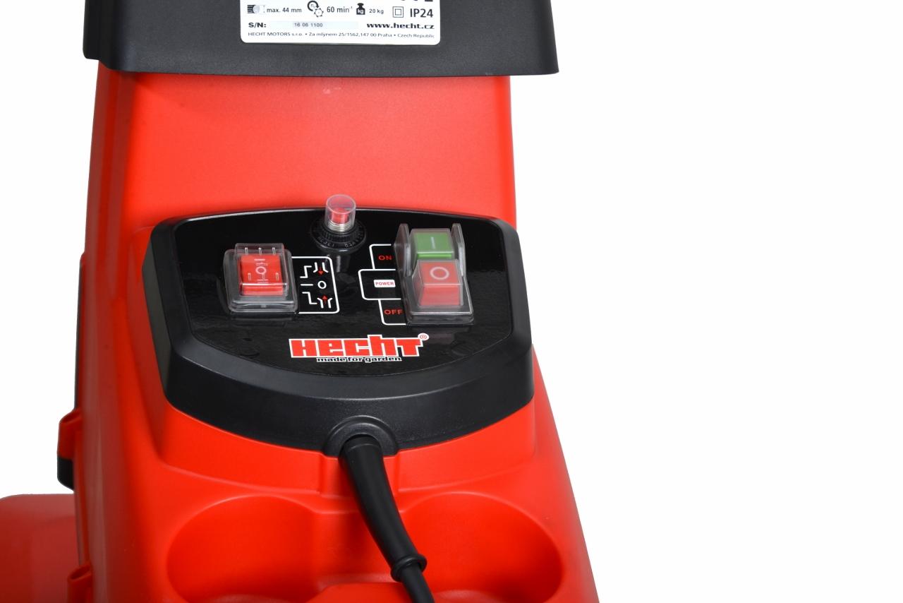 HECHT 6285 XL - elektrický drtič větví