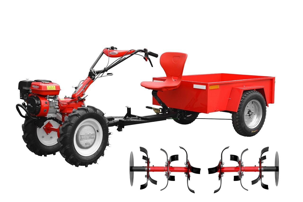 HECHT 7100 SET - kultivátor SET ( vozík, kola,závaží)