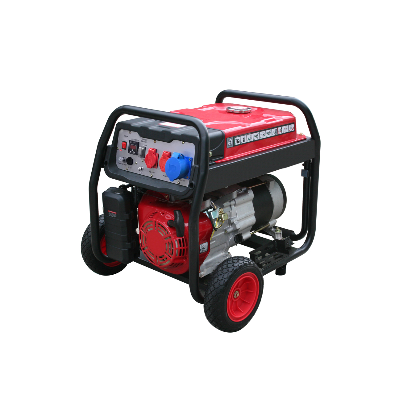HECHT GG 5000 - jednofázový generátor elektřiny