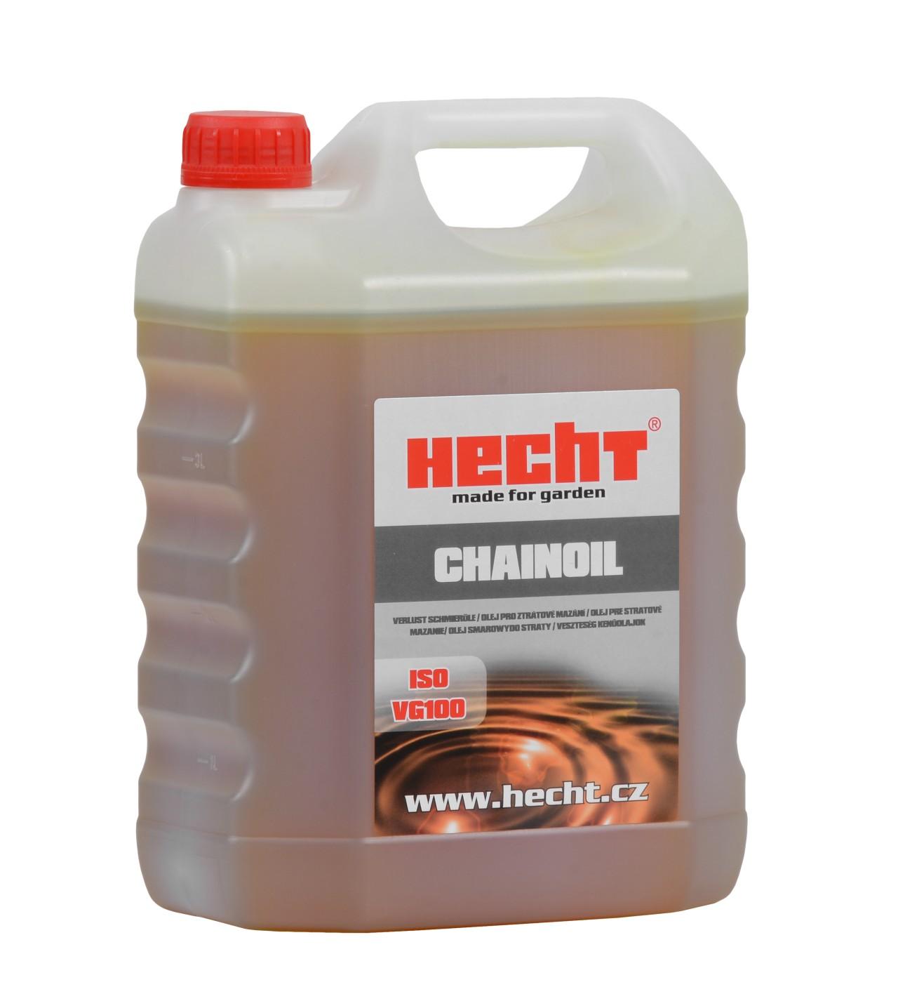 HECHT CHAINOIL 4L - olej na řetězové lišty