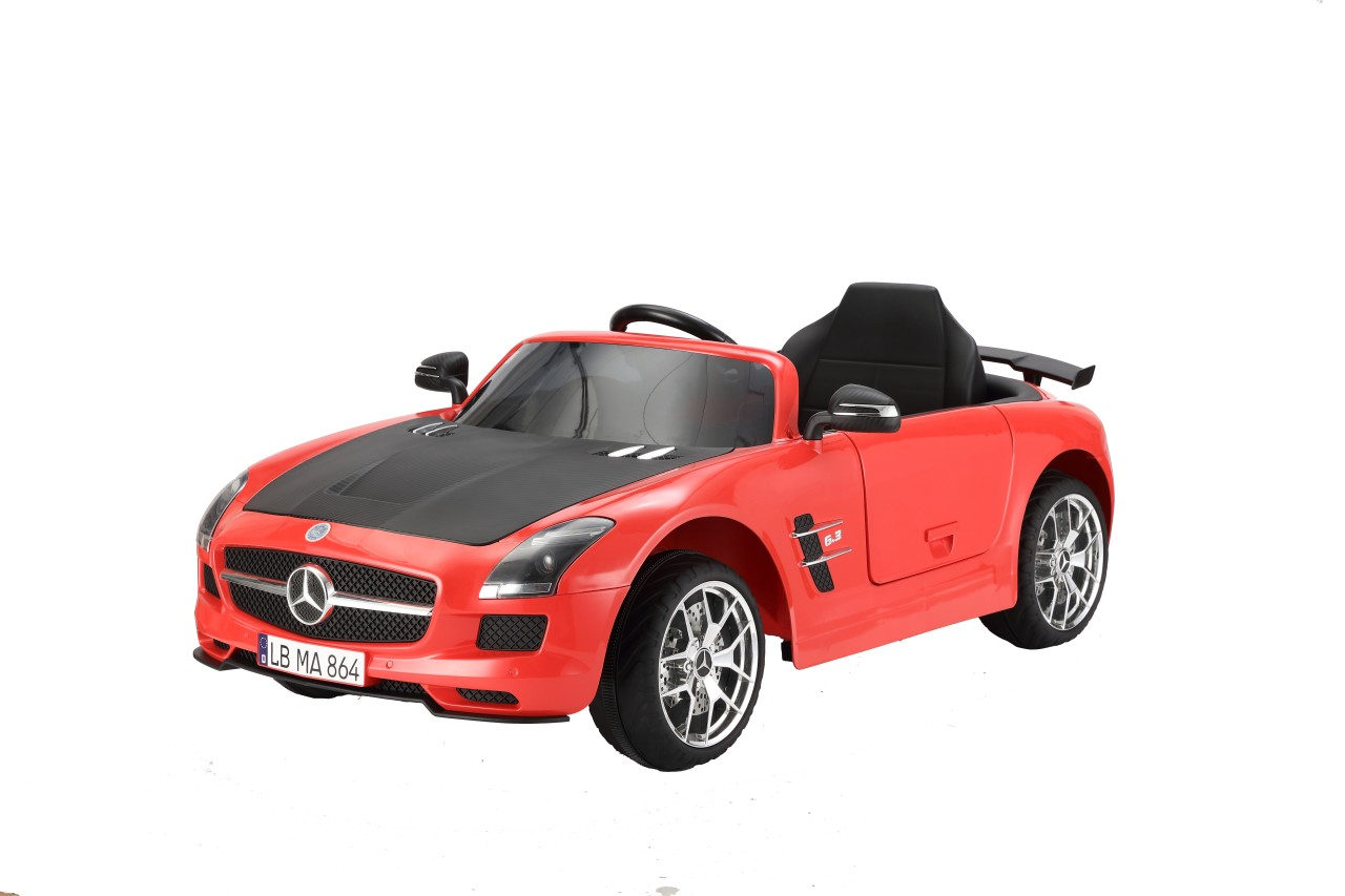 MERCEDES BENZ SLS-AMG RED