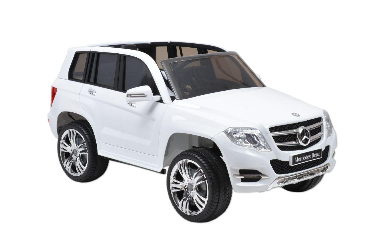 MERCEDES BENZ GLK - CLASS - WHITE - dětské autíčko