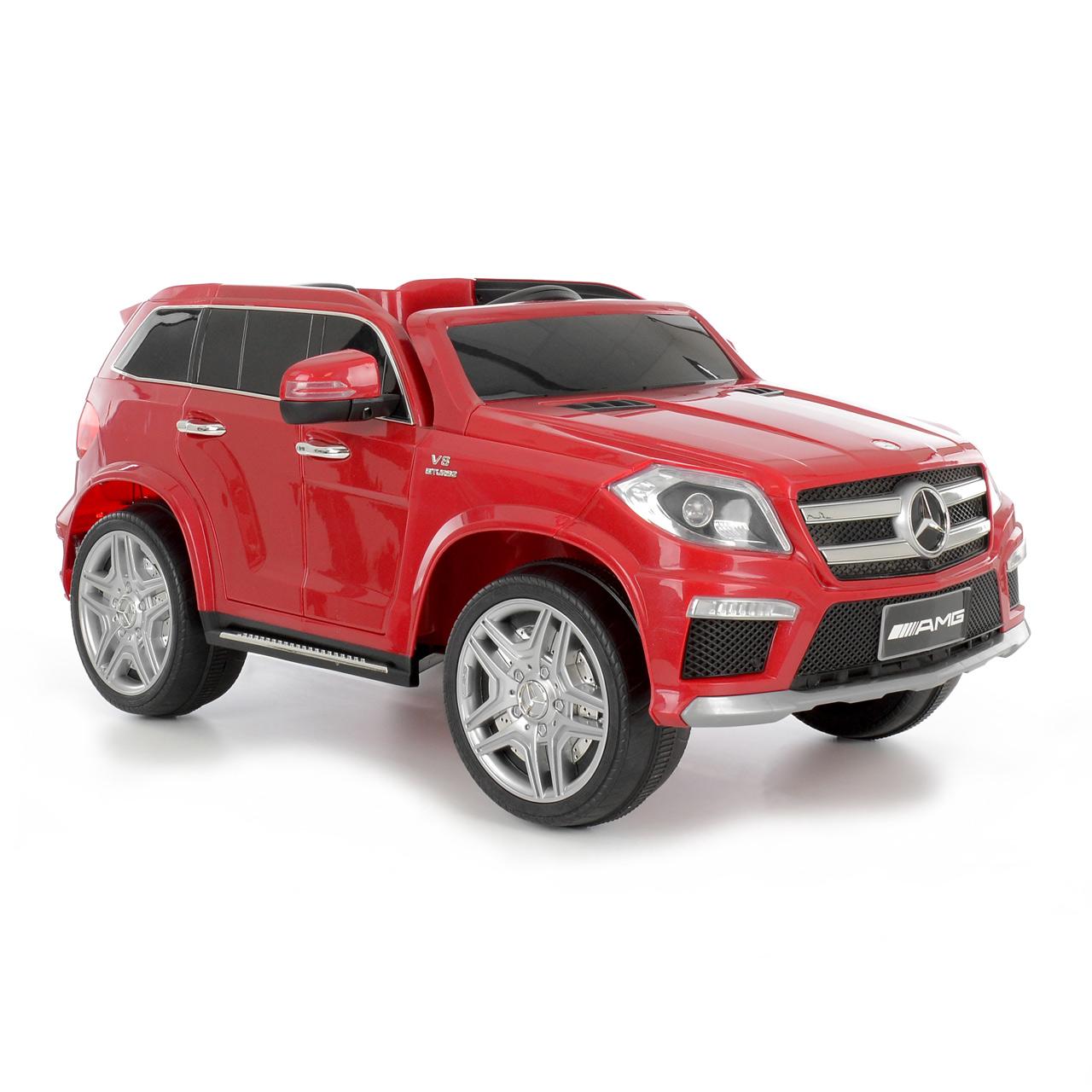 MERCEDES BENZ GL63 RED - akumulátorové autíčko - vozítko