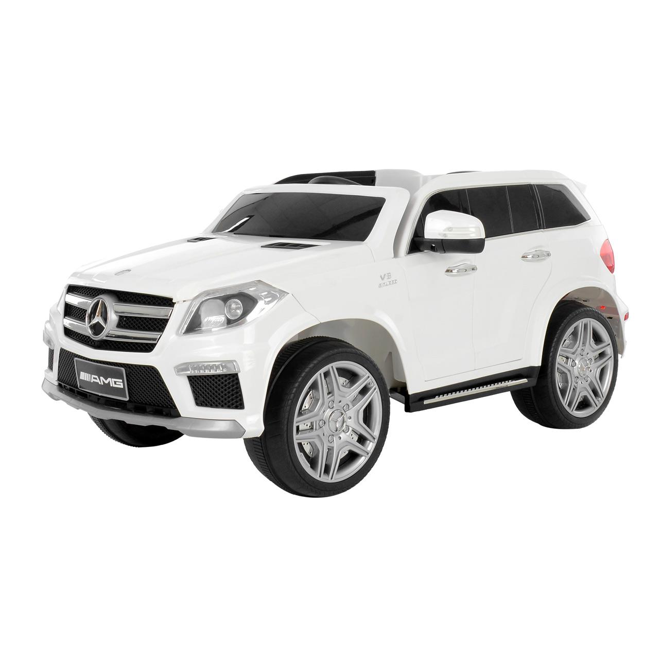 MERCEDES BENZ GL63 WHITE - akumulátorové autíčko - vozítko