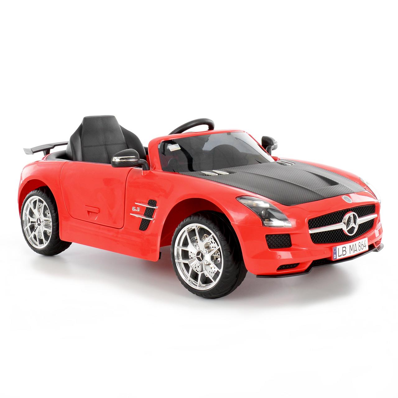 MERCEDES BENZ SLS-AMG RED - akumulátorové autíčko - vozítko