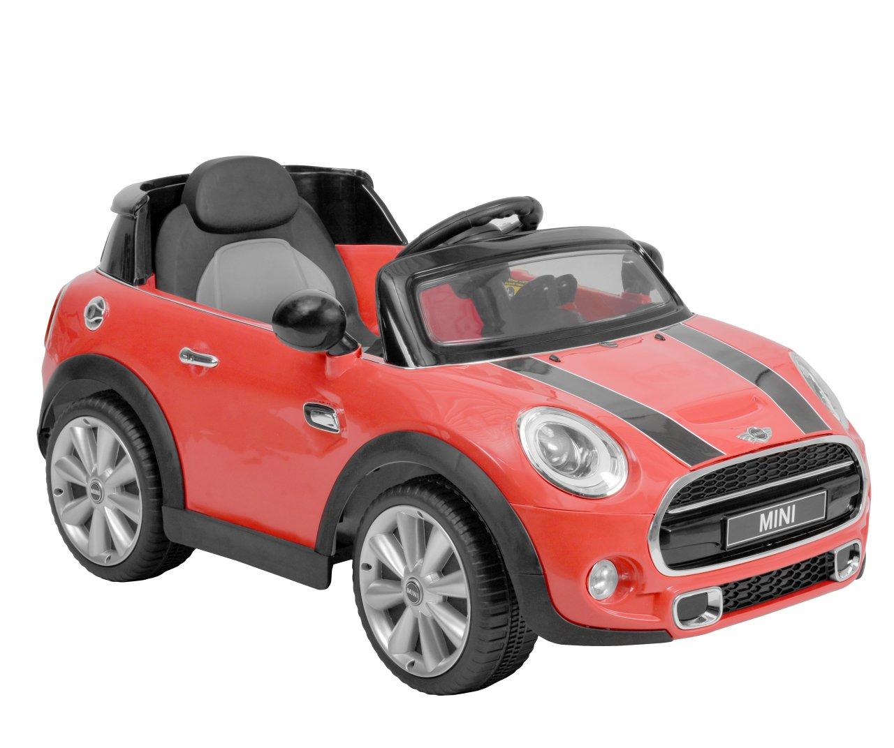 MINI HATCH RED - akumulátorové autíčko - vozítko