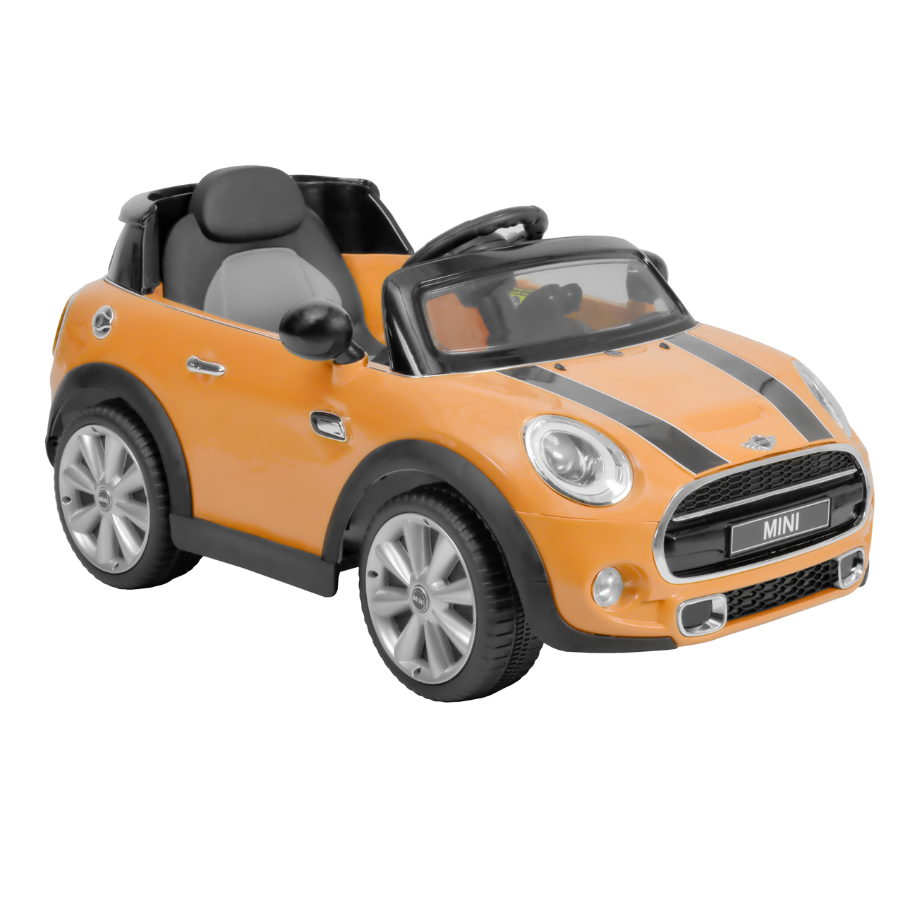 MINI HATCH YELLOW - akumulátorové autíčko - vozítko