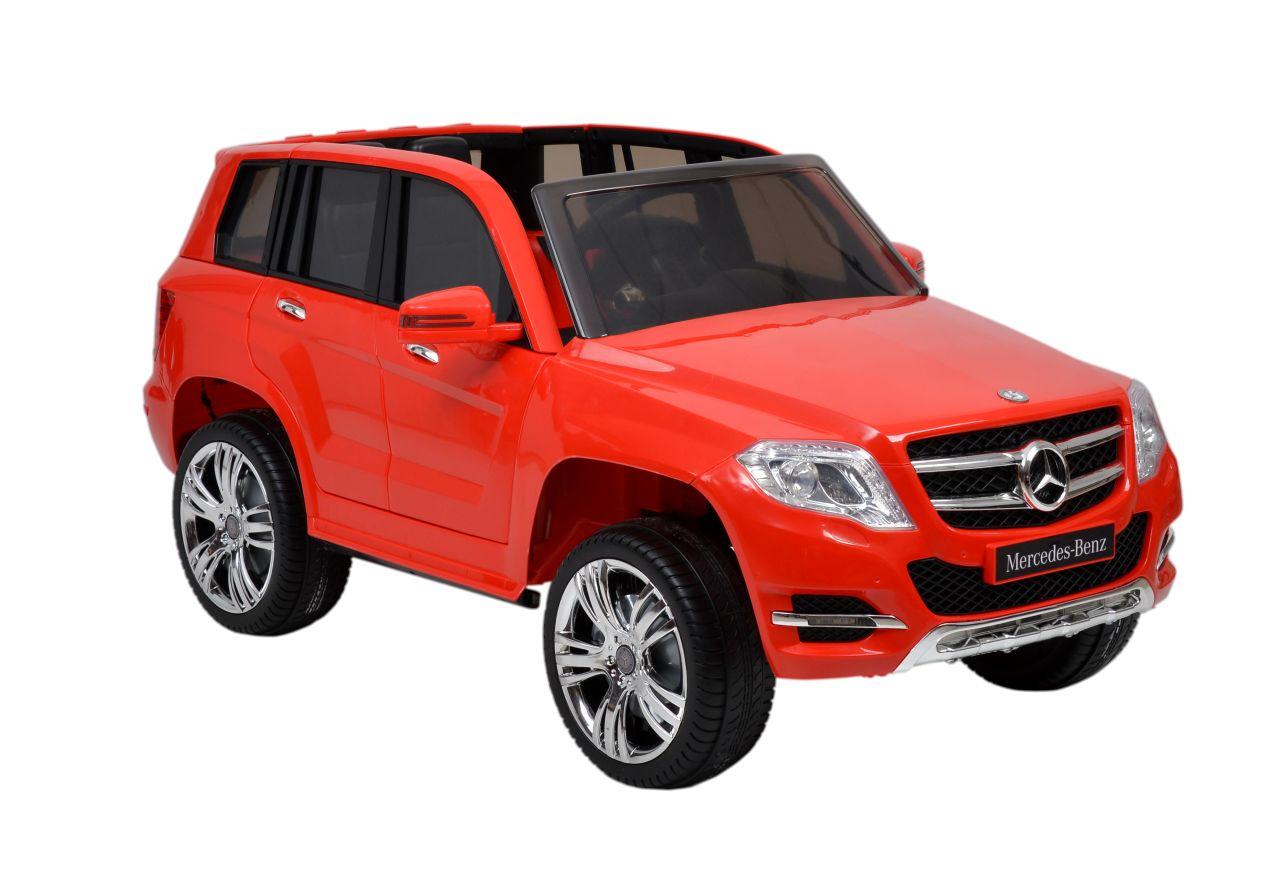 MERCEDES BENZ GLK - CLASS - RED - dětské autíčko