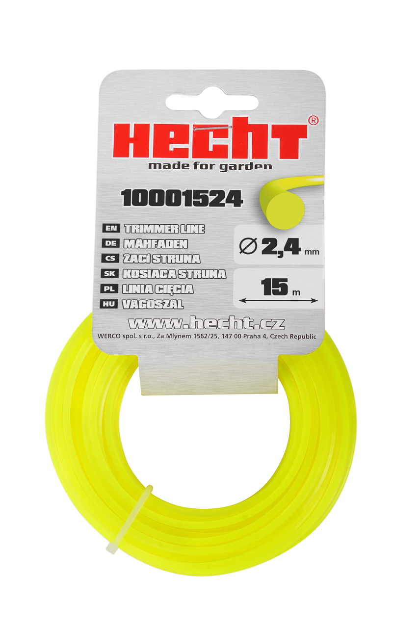 HECHT 10001524 - struna kulatá 2,4 mm x 15 m