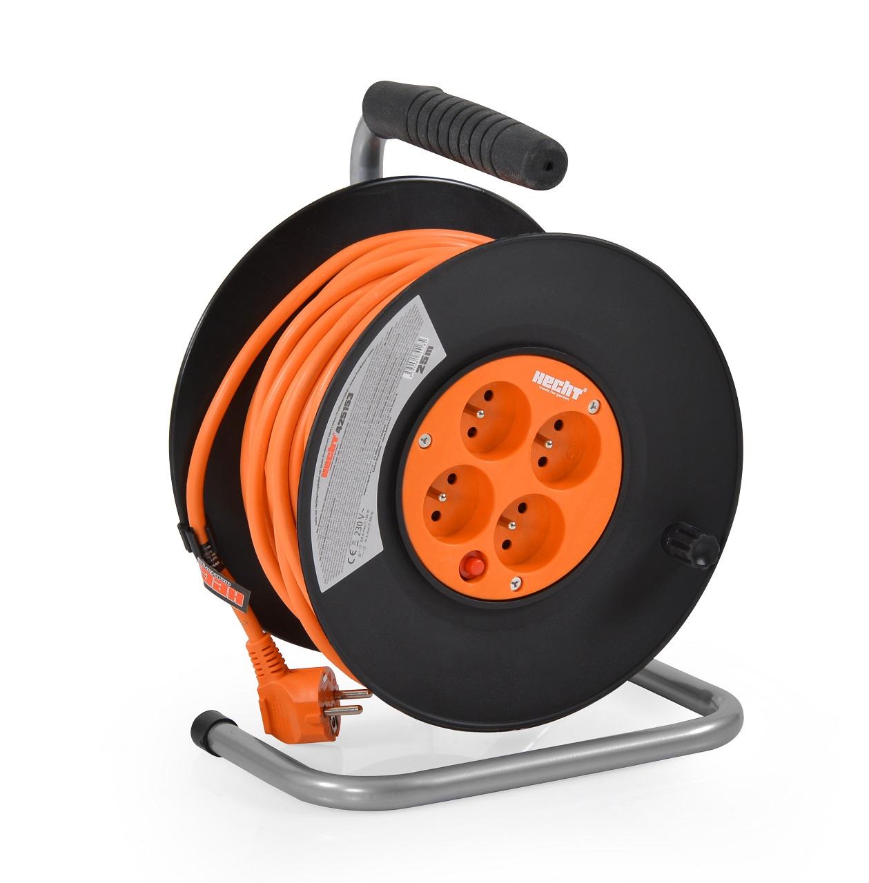 Hecht 450153 - prodlužovací kabel na cívce
