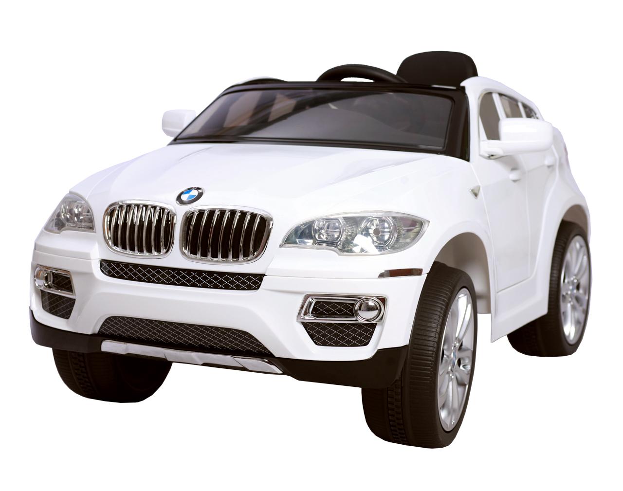 BMW X6 - WHITE - děstké autíčko