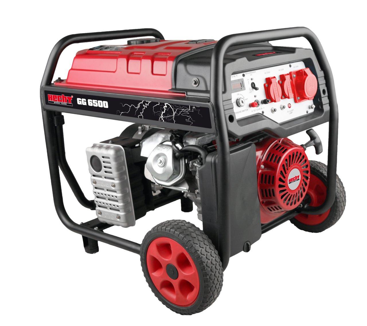 HECHT GG 6500 - jednofázový generátor elektřiny