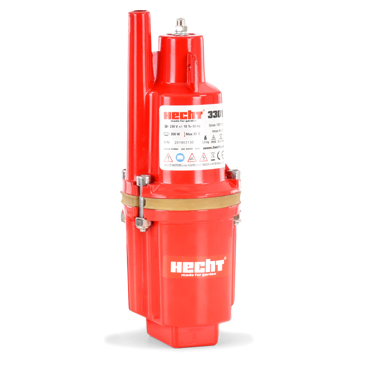 HECHT 3301 - Ponorné čerpadlo