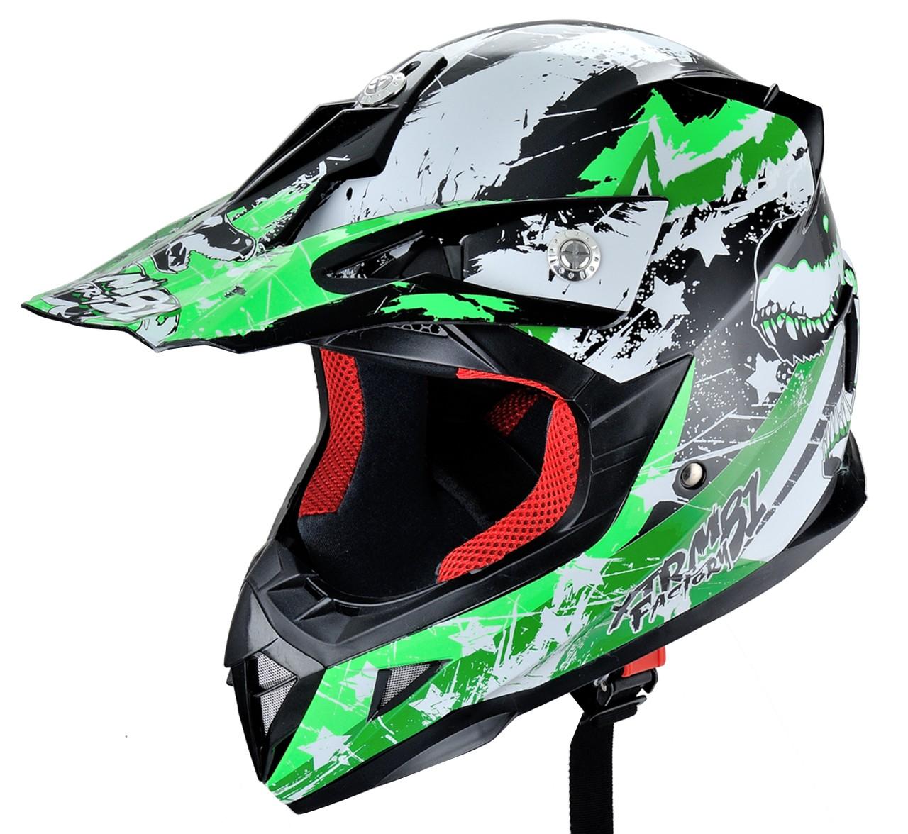 HECHT 54915 L - přilba pro čtyřkolku a motocykl